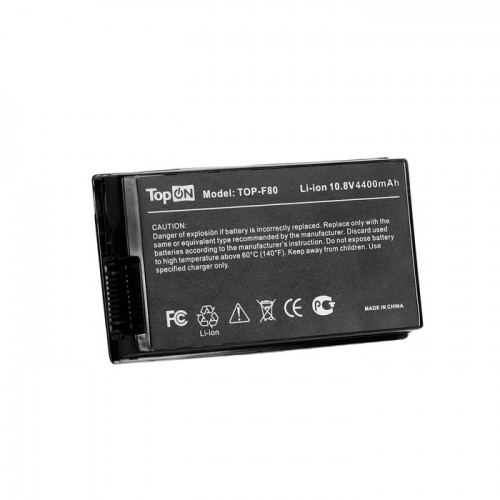 Батарея для ноутбука ASUS F50 F80 F81 F83 X61 X80 X82 X85 Pro63D Series (10.8V 4400mAh PN:A32-F80A A