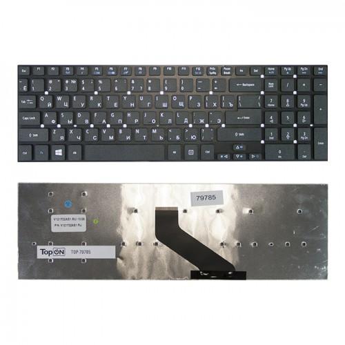Клавиатура для ноутбука Acer Aspire 5830, 5755, E1-510, E1-510P, E1-522, E1-530 черная под рамку