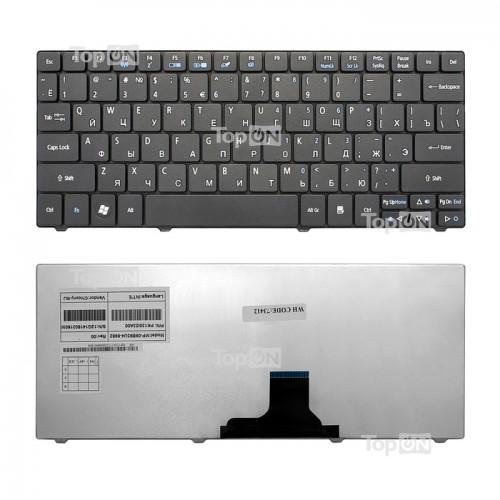 Клавиатура для ноутбука Acer Aspire ONE 722, 751, 753, 1410, 1810T черная, P/N: PK130I23A00