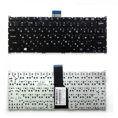 Клавиатура для ноутбука Acer Aspire S3, S5 , V5-121 Series (черная), P\N: PK130RO2C04