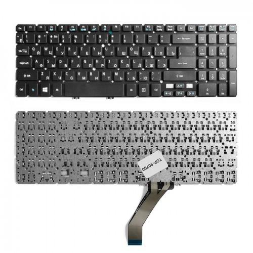 Клавиатура для ноутбука Acer Aspire V5 Series черная, без рамки, P\N: MP-11F5