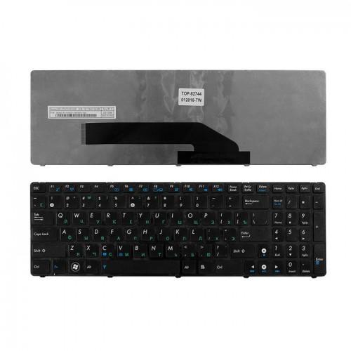 Клавиатура для ноутбука Asus K50 K51 K5 K50C K60 K61 P50 K70 F52 X5DIJ N50 F9 Series (черная)