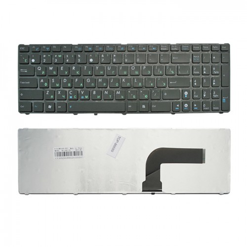 Клавиатура для ноутбука Asus A52, A53, A54, A72, N50, N51, N52, N53, K52 Черная, P\N: OKNB0-4620US00