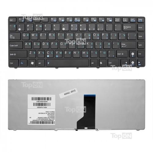 Клавиатура для ноутбука Asus K42, N43, N82, U31, U35, U41, UL30 черная P\N: MP-09Q53US-528