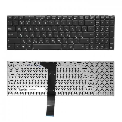 Клавиатура для ноутбука Asus X550C, K550, X550V, A550C, A550VB, Y581C, X550. Черная, плоский Enter,