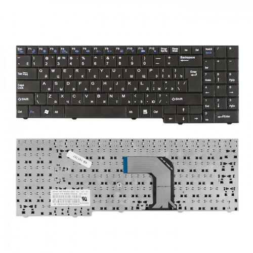 Клавиатура для ноутбука DNS 0139569 Черная, P\N: 82b382-fm2028