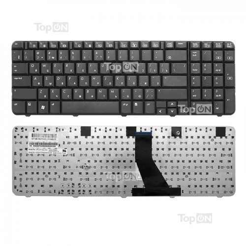 Клавиатура для ноутбука HP CQ71, G71 черная, P/N: 509727-001