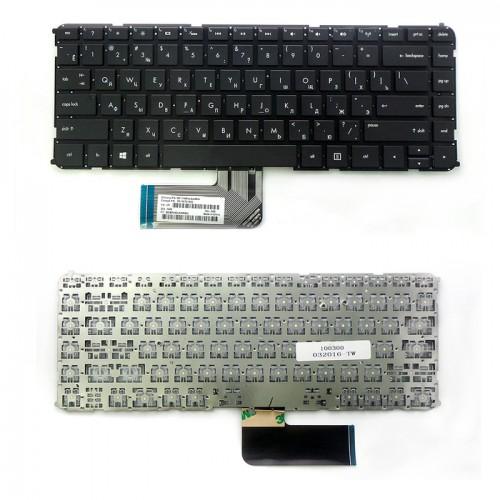 Клавиатура для ноутбука HP ENVY 4 4T 6 6T sleekbook 4T 6, P\N: 6T698679-001 (черная, без рамки) (TOP