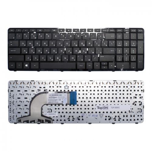 Клавиатура для ноутбука HP Pavilion 15-E, 15T-E, 15Z-E 15-N, 15T-N, 15Z-N, PN:749658-251 (с рамкой)