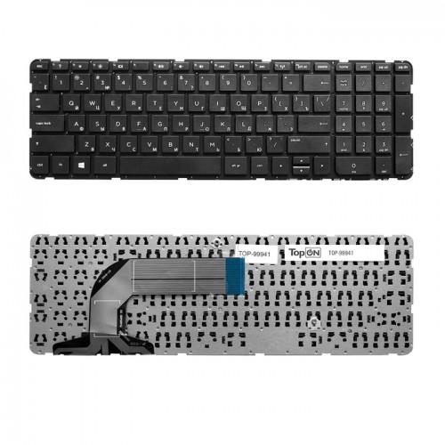 Клавиатура для ноутбука HP Pavilion 17-e (черная, с черной рамкой), P\N: 2B-07016Q110