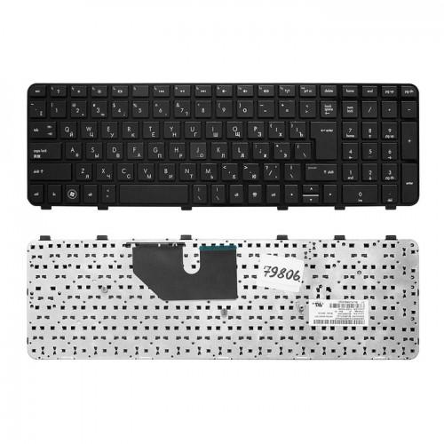Клавиатура для ноутбука HP DV6-6000 с рамкой черная,