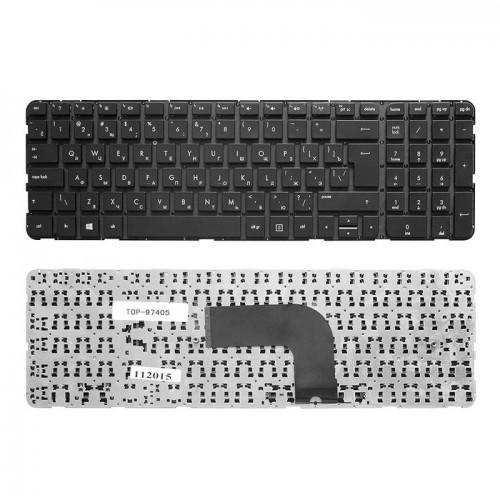 Клавиатура для ноутбука HP Pavilion DV6-7000 Series без рамки черная