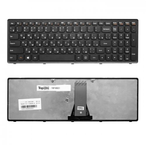 Клавиатура для ноутбука Lenovo G500S S510S S500  черная, P\N: 25211050