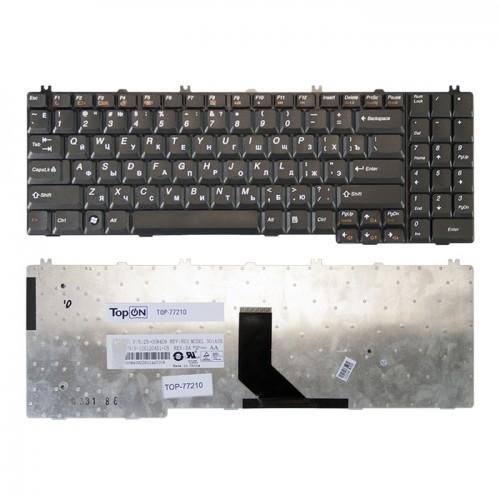 Клавиатура для ноутбука Lenovo G550, G555, B550, B560, V560  черная P\N: 25-008409