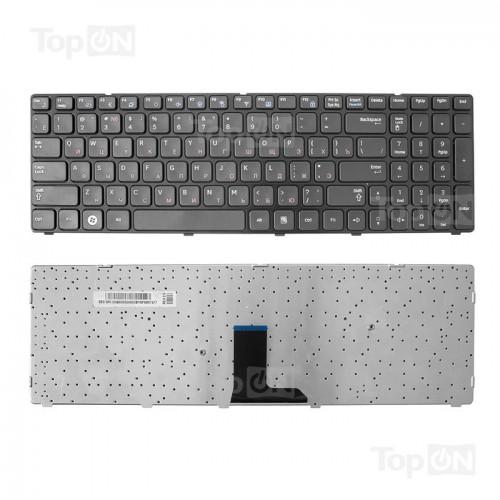 Клавиатура для ноутбука Samsung R580 R590 R780 E852 Черная, P/N: