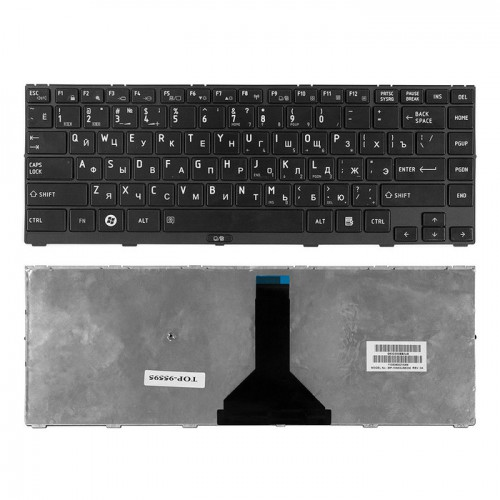 Клавиатура для ноутбука Toshiba Satellite R845 Series (черная с рамкой) P\N: MP-10N93US6356