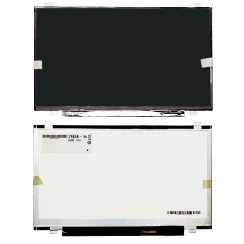 """Матрица для ноутбука 14.0"""" тонкая, уши верх/низ, 40pin (1366x768, Slim, WXGA LED, глянец)"""