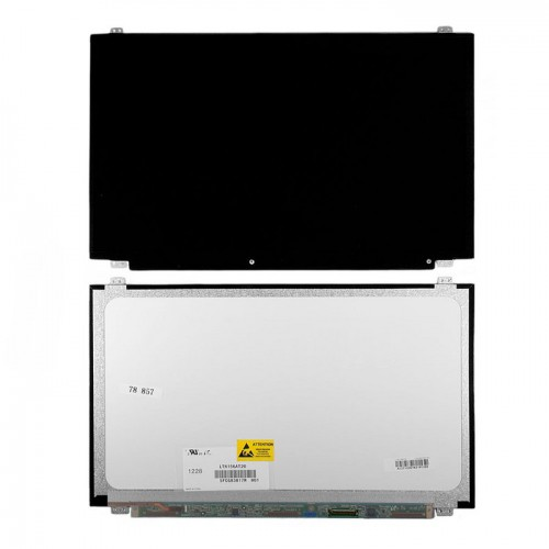 "Матрица для ноутбука 15.6"" тонкая, 40pin (LP156WH3(TL)(A2), 1366x768 HD, slim, 40 pin, WXGA, LED, БУ"
