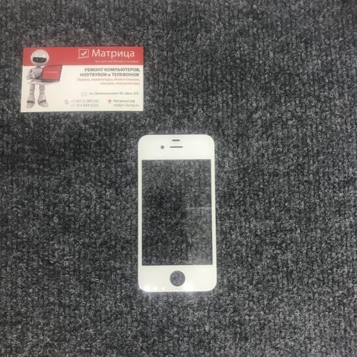 Стекло дисплея для Apple iPhone 4/ 4S белый