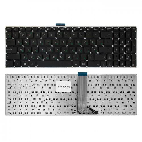 Клавиатура для ноутбука Asus K56 A56 S56C X501 R505C черная без рамки P/N: