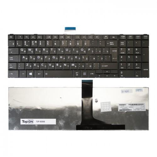 Клавиатура для ноутбука Toshiba Satellite C50, L850, C850, P850  (черная с рамкой) P\N