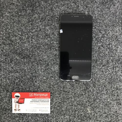 Дисплей для Meizu M3 Note (M681H) черный, в сборе с тачскрином (сенсором)