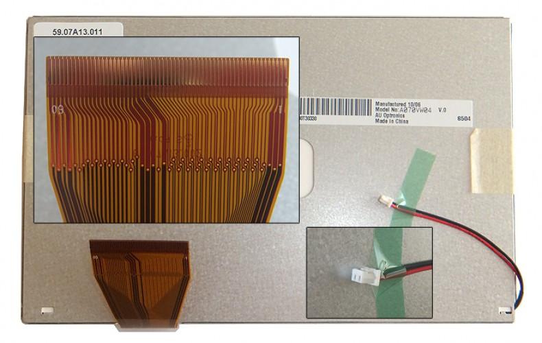 "Матрица для ноутбука 7.0"" A070VW04 (800x600, LED светодиодная подсветка, матовая)"