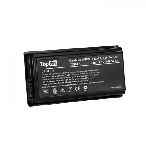 Батарея для ноутбука ASUS F5 Series (11.1V 5200mAh PN: A32-F5, A32-X50, 90-NLF1B