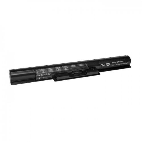 Батарея для ноутбука Sony VAIO (VGP-BPS35) / 14.8V, 2200mAh / 14E, 15E черная_БУ