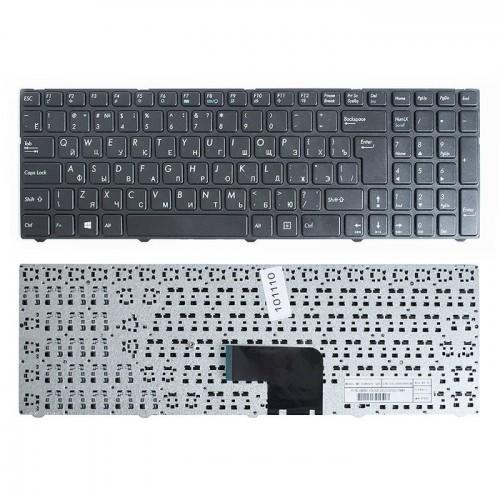 Клавиатура для ноутбука DNS  Черная, MP-13A83SU-5283