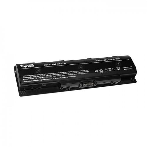 Батарея для ноутбука HP Envy 14, 15, 17 черная (11.1V, 4400mAh)