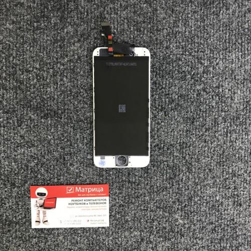 Дисплей для Apple iPhone 6 белый, в сборе с тачскрином (сенсором), копия