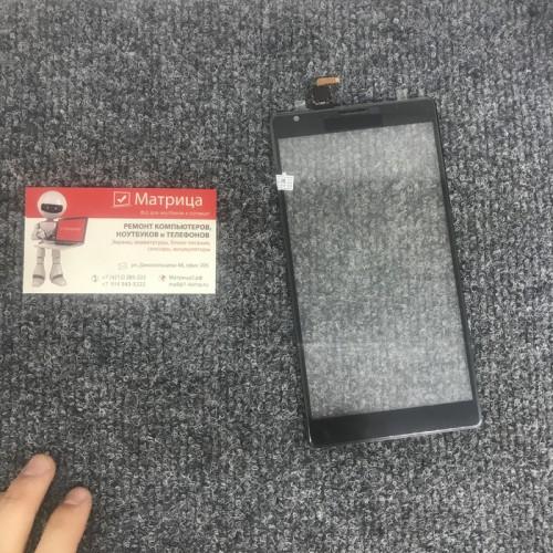 Тачскрин (сенсор) для Nokia 1520 (черный) оригинал
