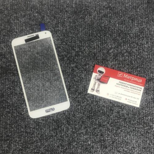 Стекло дисплея для Samsung Galaxy S5 mini (G800F) белый